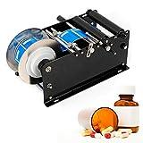 Etikettiermaschine manuelle Manuelle Etikettiermaschine Round Bottle Labeling Machine With Coding Semi Auto Date Printer 220V 30 mal/Minute Neu