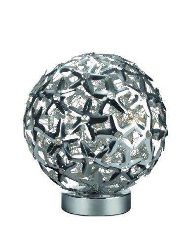 Massive Mercier Lampe de Table 5 x 20 W Aluminium