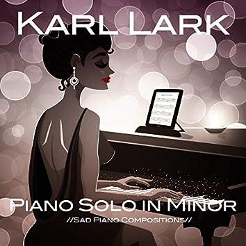 Piano Solo in Minor (Sad Piano Compositions)