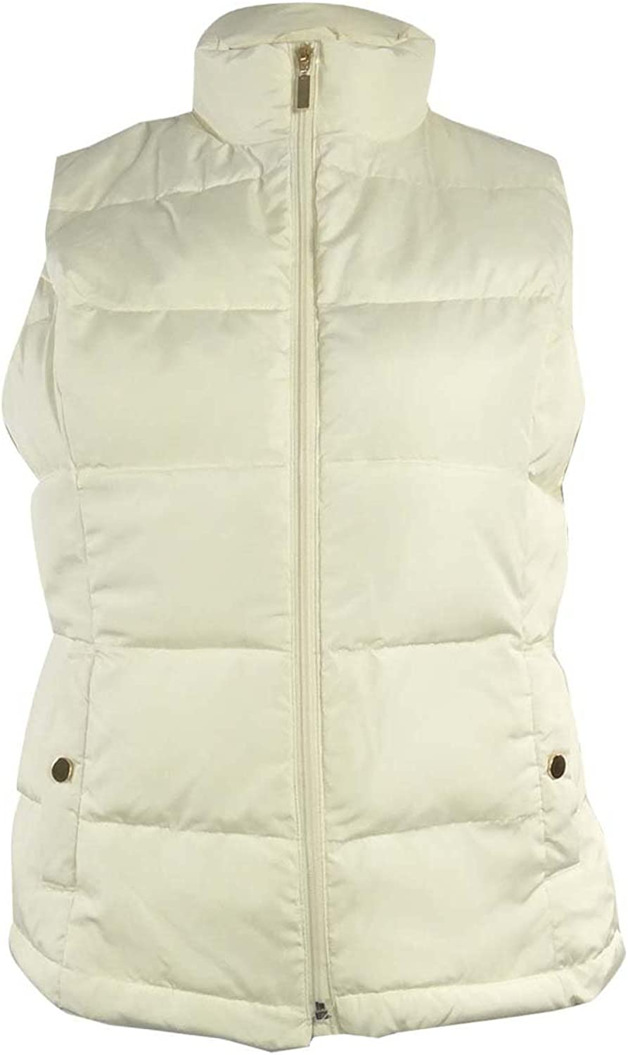 Charter Club Women's Solid Quilted Jacket Vest