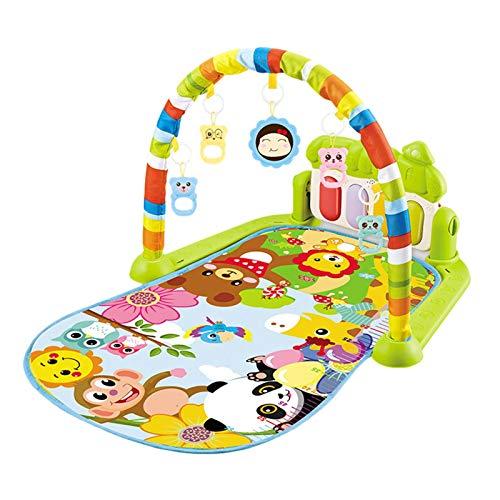 Dreameryoly Alfombrilla Musical para Bebé Alfombrilla De Tiempo con Alfombrilla De Música De Piano para Bebé Recién Nacido Y Niña como Regalo De Bebé para Bebé handsome