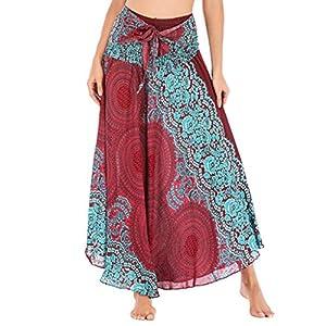 Rawdah_Faldas Mujer Largas Elegantes Faldas Mujer Cortas Verano Fiesta Originales Mujer Hippie Bohemia Gitana Boho… | DeHippies.com
