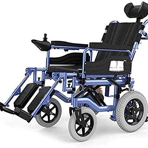 Gpzj Wheelchair, Foldable, Lightweight, Elderly, Disabled Patient, Intelligent Electric Wheelchair, Lightweight Folding, Weighing Only 29 Kg
