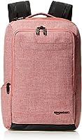 AmazonBasics Slim Carry On Travel Backpack, Salmon - Overnight