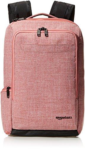 Amazon Basics - Zaino da viaggio compatto, Per un pernottamento, Rosso