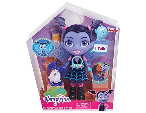 Vampirina-78040 Vampirina Parlanchina, Multicolor (Bandai 78040)