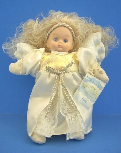 The Christmas Boutique ~ Original Bean Angel Collectables 'Love' Doll
