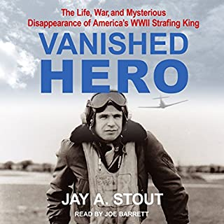 Vanished Hero audiobook cover art