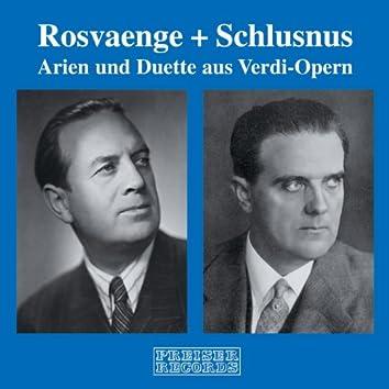 Helge Rosvaenge & Heinrich Schlusnus