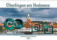 Ueberlingen am Bodensee - Fotografie + Geometrie (Wandkalender 2021 DIN A2 quer): Grosse Kreisstadt Ueberlingen in Bildern (Monatskalender, 14 Seiten )