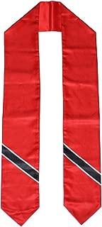Trinidad & Tobago Flag Graduation Stole/Sash/Scarf