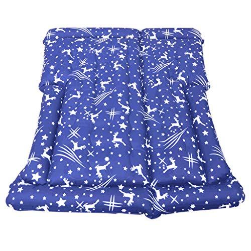 Luftmatratzen Auto Matratze Auto Outdoor Reisebett SUV Auto Aufblasbare Zelt Bett Schnitts (Color : Blue, Size : 170 * 130cm)