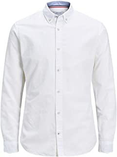 JACK /& JONES Jjesummer Shirt L//S PS Camicia Uomo