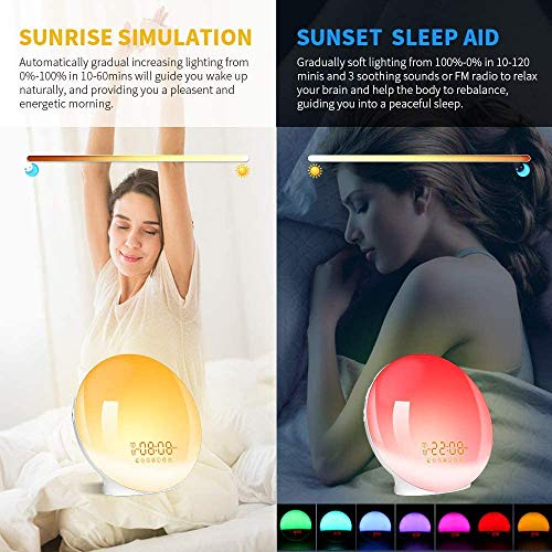 LBell Wake-Up Light Alarm