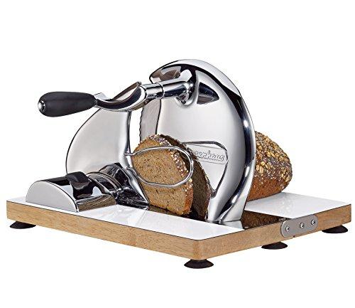 Zassenhaus manueller Allesschneider Brotschneidmaschine Handschneider Edelstahl
