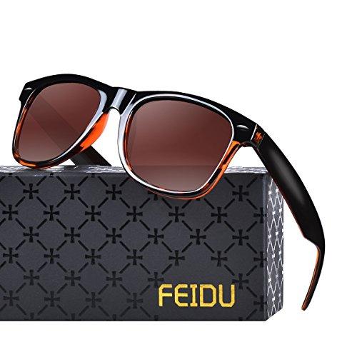 ウェリントン偏光メンズサングラス UVカットレディースサングラス UV400加工 男女共用 ユニセックス グラデーションレオパード