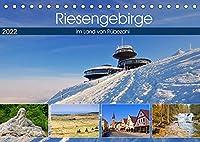 Riesengebirge - Im Land von Ruebezahl (Tischkalender 2022 DIN A5 quer): Bilderreise durch das Riesengebirge (Monatskalender, 14 Seiten )