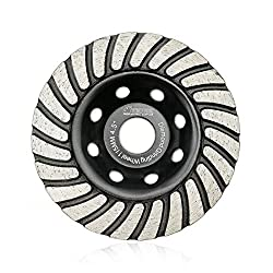 "7"" Supreme Bi-Turbo Cup Wheel for Concrete Masonry 5//8""-11 Arbor 30//40 Grit"