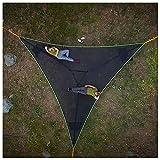 Dreieck Große Hängematte Camping Hammock - 9/13 FT Multi-Person Hammock & Maximum Load 200 kg, Hängematten für Hinterhof Terrasse Garten Camping Reisen (A)