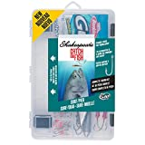 Shakespeare Catch More Fish Tackle Box Kit, Surf/Pier