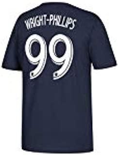Bradley Wright-Phillips New York Red Bulls #99 MLS Men's Player T-Shirt Navy