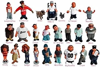 Homies Series 4, 5 and 6 sets! Mint figures, 72 in all Save big on shipping!