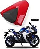 Motorcycle Rear Seat Cover Cowl Passenger Rear Seat Cover Pillion Tail Cover Fit for Yamaha YZF1000 R1 2000 2001 R1 00 01 ABS Plastic Fairings Rear Seat Cowl (Matte Black)