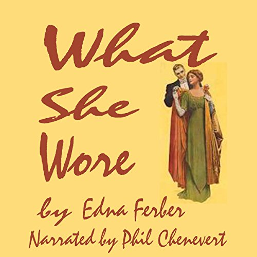 What She Wore audiobook cover art