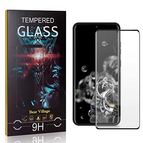 4 Pack Bear Village Screen Protector for Galaxy S20 Ultra Thin 9H Hardness Tempered Glass Screen Protector Film for Samsung Galaxy S20 Easy Installation