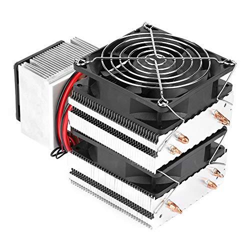 Tomantery Halbleiterkühler, Mini-Kühlschrank DIY Thermoelektrischer Kühler Halbleiterkühlung mit 180W Leistung zum Kühlen für Kühlgerät für Haustiere