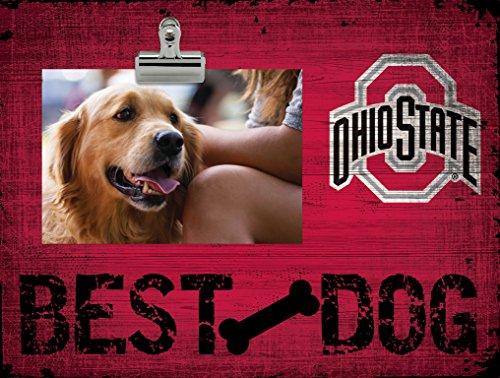 Fan Creations NCAA Ohio State Buckeyes Best Dog Clip-It Photo Frame