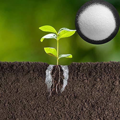 Hydrogel Wasserspeicher Granulat Wassergel Pflanzen Pflanzgranulat Bodenverbesserer Pflanzgel (1kg)