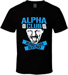 FanTstore Chris Jericho Alpha Club Wrestling T Shirt