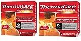 ThermaCare - Parche autocalentador, cuello y muñeca, alivio del dolor cervical, 8 horas de calor constante, 2 cajas de 2 parches de cuello