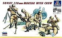 ■ イタレリ/ズベズダ 【絶版/訳有】 1/35 ソビエト 砲兵セット