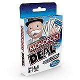 Monopoly Deal - Jeu de societe de Voyage - Jeu de cartes - Version française