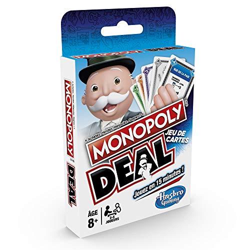 Monopoly - Jeu de Societe Deal - Jeu de Voyage - Version Fra