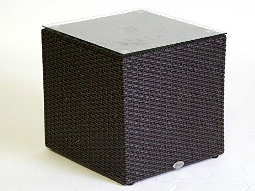 Destiny Carlos Kubus Tisch 45 x 45 cm Lounge Beistelltisch Loungetisch Cubus