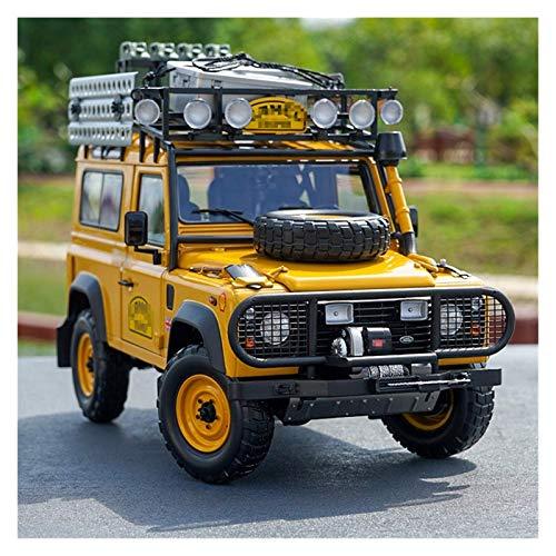 BECCYYLY Diecast Model Car Simulation1 / 18 para el Defensor 90 110 para Camello para la edición de trofeos Diecast Casting Modelo Diecast Vehicle Kids Regalo wmpa