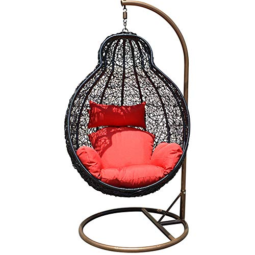 QPALB Garden Hammock with Stand 185 * 105cm for Indoor Balcony Park Outdoor Hanging Swing Chair Withstands 150kg-B
