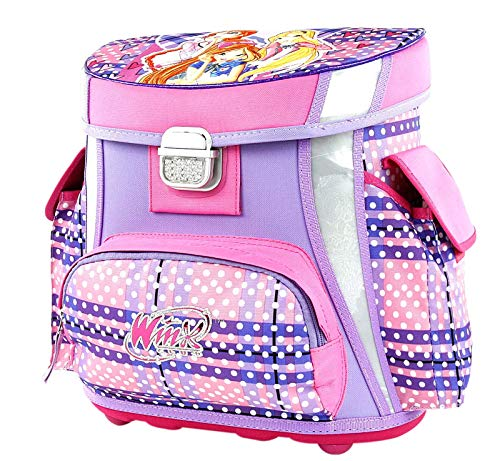 Target Square Winx Scottish Set 4in1 Schulrucksack, 38 cm, 11 liters, Violett (Viola)