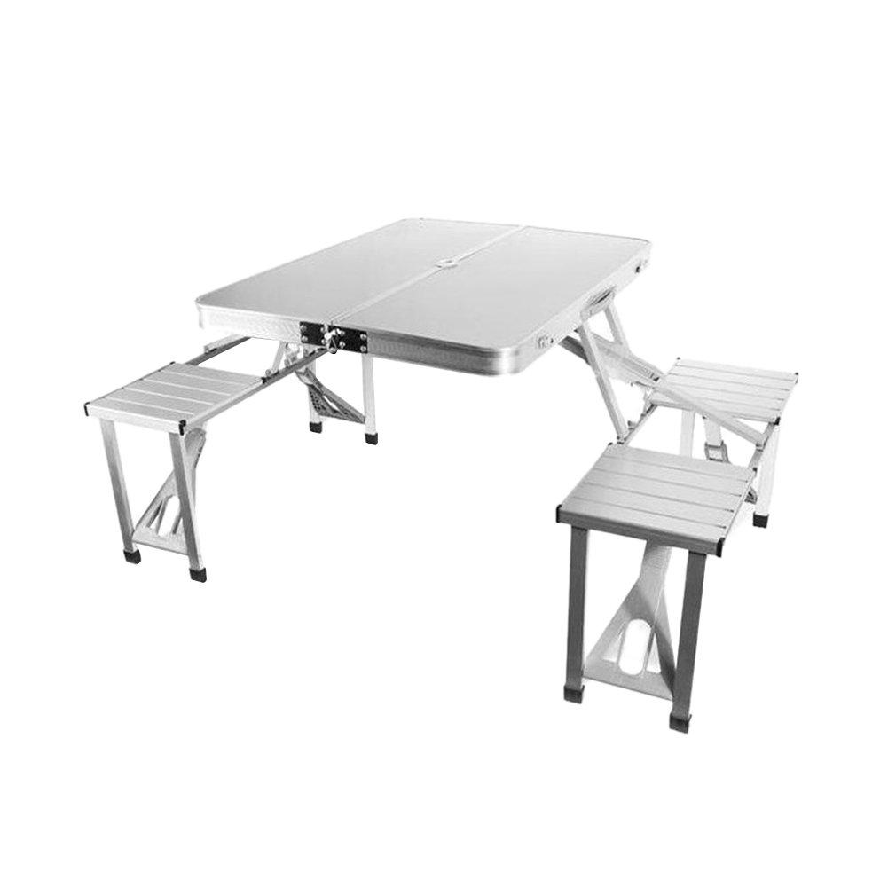 Leo565Tom - Juego de Mesa y sillas Plegables para Picnic al Aire ...