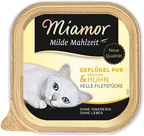Miamor Milde Mahlzeit Geflügel Pur & Huhn 16x100g