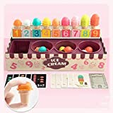 Webla Play House Toys Ice Cream Imitación Juguete matemático Juguetes educativos