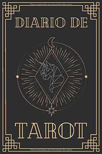 Diario de Tarot: Rueda de la Fortuna - Formato 16 x 23cm con 122 páginas - Tirada de 3 Cartas- Para Practicantes de Cartomancia