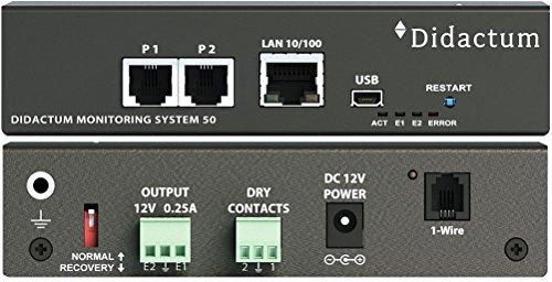 Rack Monitoring System 50 - Temperaturüberwachung in Serverraum und Rechenzentrum