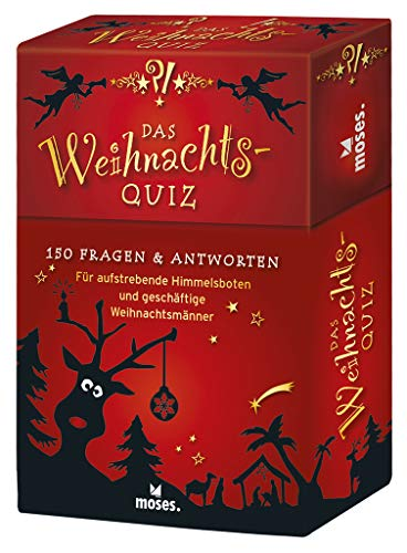 Das Weihnachts-Quiz: 150 Fragen und Antworten für aufstrebende Himmelsboten und geschäftige Weihnachtsmänner | Das Quiz für den Advent