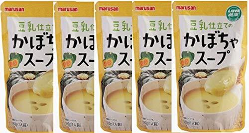 無添加 豆乳仕立てのかぼちゃスープ 180g×5箱