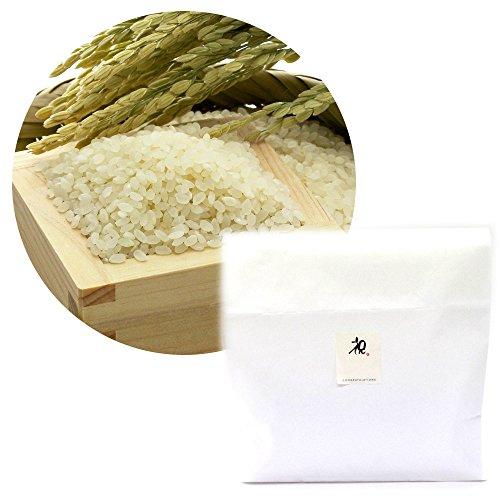 【無洗米】新潟 無農薬コシヒカリ 1kg[祝シール付き]