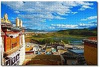 BEI YU MAN.co エクアドル、ガラパゴス島大人のパズル子供1000木製パズルゲームギフト家族の装飾特別な旅行のお土産